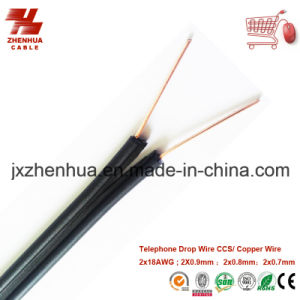 China 2X18AWG Telephone Drop Wire - China Drop Wire, Telephone ...