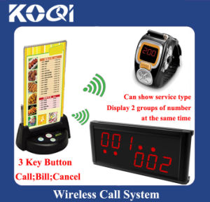 Wireless Paging System for Restaurant Fast Food pictures & photos