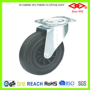 160mm Swivel Plate Garbage Bin Caster Wheel (P101-31C160X40) pictures & photos
