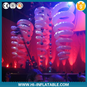 Lighted Inflatable Supplies, Colorful LED Lighting Inflatable Balloon for Festival Decoration