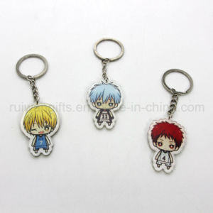 Custom Cartoon Acrylic Key Holder, Acrylic Keychain pictures & photos
