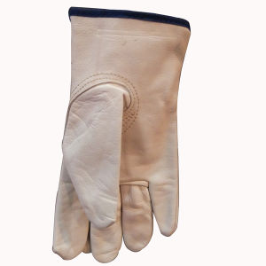 Driver′s Leather Gloves with Black Tip pictures & photos