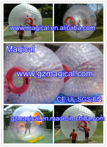 Clear Inflatable Zorbing Ball Zorb Rolling Ball Inflatable Grass Zorb Ball (RA-090) pictures & photos