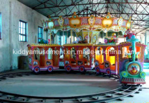 Amusement Equipment Entertainment Train Trackless Kids Train for Amusement Park