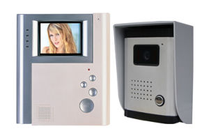 4 Inch Hands Free 4 Wires or 2 Wires Color Video Door Phone