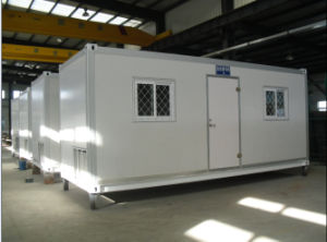 Portable Prefabricated Container House for Temporary Living Buildings pictures & photos