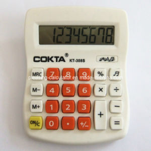 8 Digits Colorful Electronic Calculator, Can Silk-Screen Logo (KT-308S)