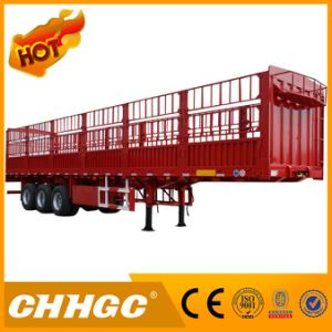 ISO CCC Confirmed 3 Axle Stake Semi Trailer with High Quality