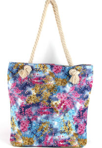 New Fashion Promotional Beach Bag Handbag Shoulder Leisure Bag GS022504-1 pictures & photos