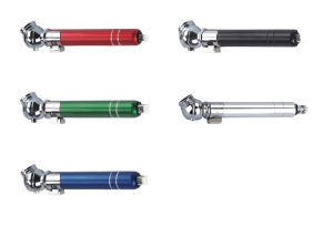 Promotional Mini Tire Gauge with Plastic Head and Aluminum Tube pictures & photos