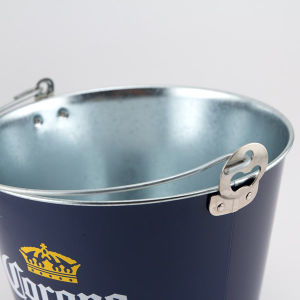 5qt Galvanized Beer Bucket with Opener on The Side