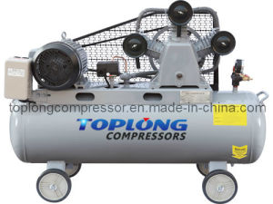 Piston Reciprocating Belt Driven Air Compressor Air Pump (V-0.36/8) pictures & photos