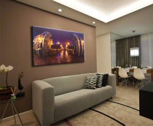 Wholesale 2016 Latest LED Light Oil Paintings on Canvas Triumphal Arch pictures & photos