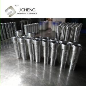 Single Inlet Boron Carbide Nozzle for Sand Blasting