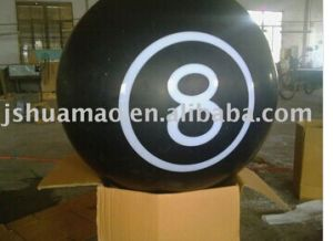 Acrylic Ball with Number Mr135