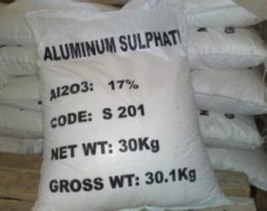 Aluminum Sulfate 15.8%-17% in Promotion with Reasonable Price pictures & photos
