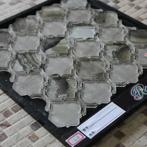 Hot Sale Lantern Shape Water Jet Mosaic Decorative Glass Tile