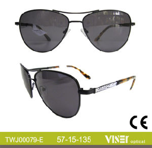 Fashion Metal Top Quality Sunglasses Metal Sunglasses (79-D) pictures & photos