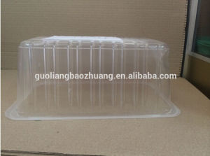 Food Grade Size Customizable with Absorb Pads Plastic Frozen Fish Packing Box pictures & photos
