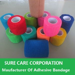 Various Colors Medical Cohesive Bandage Self Adhesive Bandage (SC-EAB001) pictures & photos