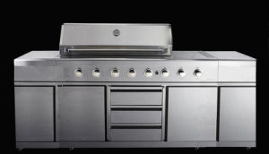 Stainles Steel High End Barbecue Outoor Kitchen