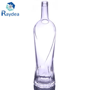 1000ml High Round Glass Bottle for Liquor pictures & photos