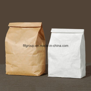 Hot Selling Customized Crafted Bread Paper Bag Food Bag pictures & photos