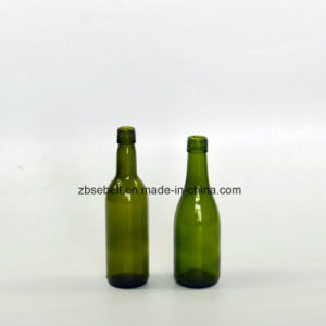 187ml Screw Top Bordeaux and Burgundy Wine Bottles pictures & photos