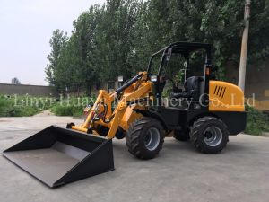 Hot Sale 1 Ton CS910 Mini Wheel Loader with Ce