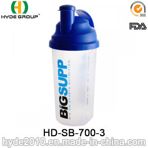 700ml BPA Free Protein Shaker Bottle, 2017 Customized Plastic Powder Shaker Bottle (HD-SB-700-3) pictures & photos