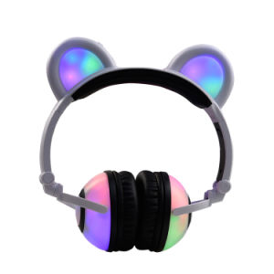 Christmas Gift Cute Glowing Headphone for Kids and Girls pictures & photos