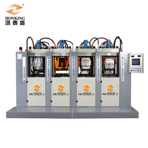 Vertical TPR PVC Shoe Sole Making Machine pictures & photos