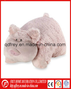 Soft Baby Toy of Stuffed Frog Pillow Toy pictures & photos