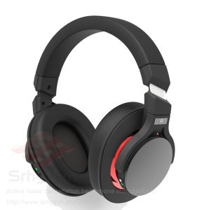 Factory OEM ODM Headset Mobile Phone Silent Disco Anc Active Noise Cancelling Wireless Bluetooth Headphone