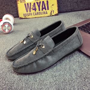 Unique Men′s Soft Suede Moccasin Loafers Driving Loafers Boat Shoes for Men pictures & photos