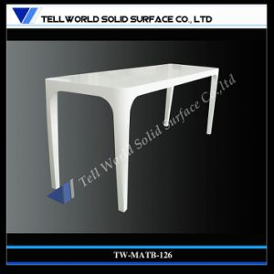 Corian High Bar Bench Table, Tall Bar Table for Bar, Pub (TW-MATB-126) pictures & photos