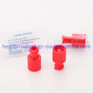 Red Luer Lock Cap, Customized OEM Packaging