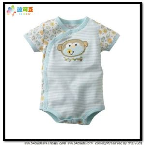 Summer Short Baby Garment Unisex Toddler Onesie pictures & photos