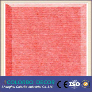 Polyester Fiber Acoustic Ceiling Wall Panel pictures & photos