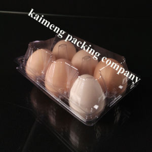 Disposable 6 Cellns Chicken Eggs Plastic Egg Tray Philippines Supplier