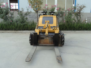 CE Min Skid Loader with Pallet Fork pictures & photos