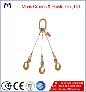 Single Leg Eye and Hook Wire Rope Sling, Lifting Tools pictures & photos