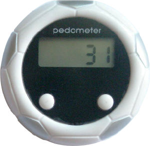RoHS Certified Football Design Gift Pedometers pictures & photos