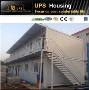 Economical Simple Container House with Windows and Doors pictures & photos