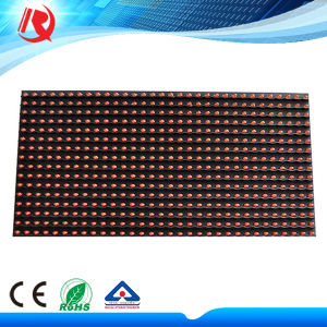 IP65 Waterproof Outdoor LED Display P10 Red Color Module pictures & photos