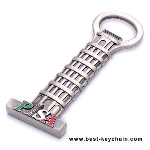 Souvenir Pisa Custom Shape OEM Gift Metal Bottle Opener (BS11411) pictures & photos