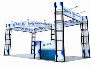 3 Sides Open Lighting China Exhibition Booth (LT-ZH017) pictures & photos