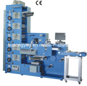 6 Colors Flexo Printing Machine with Coil Foiling pictures & photos