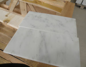 China White Marble Tile, Carrara White Marble pictures & photos