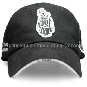 Fashion Embroidery Sandwich Cotton Twill Sport Golf Cap (TRB038) pictures & photos